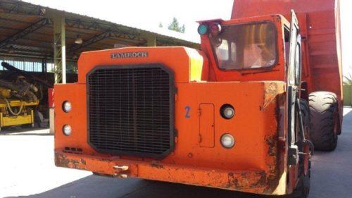 SANDVIK EJC-530 UNDERGROUND 30 TON HAULAGE TRUCK